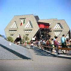Pavillon thématique de l'Homme à l'Œuvre Expo 67 Montreal, Montreal Ville, Canada 150, Fair Games, Cairo Egypt, Quebec City, Urban, World's Fair, Architecture