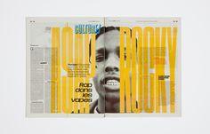 jenesuispersonne:  Production Type - Libé Sans and Libé Typewriter for Libération(3)