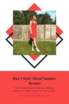 Learn To Love, Do Love, Casual Summer Outfits, Summer Dresses, Red Sundress, Different Dresses, Summer Looks, Casual Looks