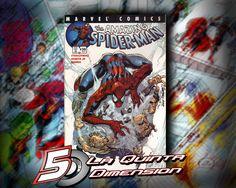 AMAZING SPIDER-MAN # 471 ( o 30) PRIMERA APARICIÓN DE MORLUN, EL VILLANO DE SPIDER-VERSE.  PORTADA DE J. SCOTT CAMPBELL. $ 200.00 Para más información, contáctanos en http://www.facebook.com/la5aDimension