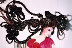 Meet Shoplifter, Björk's Icelandic Hair Sculptor Best Albums, Modern Luxury, Headdress, Iceland, Crochet Earrings, Hair Makeup, Photoshoot, Culture, Detail