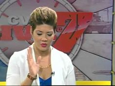 Tessanne was AMAZING on The Voice.  Repping Jamaica and the Caribbean in a big way. Tessanne Chin-First Interview After The Voice/ September 28 2013. Voice Blind Audition Link http://www.youtube.com/watch?v=RsqJZ_s3_78