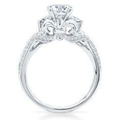 The Artiste Regal Engagement Ring by Scott Kay - Bridal - Artiste by Scott Kay - Collections - Helzberg Diamonds