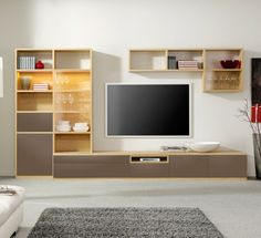 Modern Media Wall Units modular media wall units - amar - wharfside - contemporary