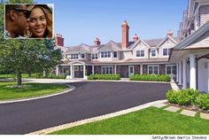 Jay-Z and Beyonce rent this crazy Hamptons mansion. See more photos   http://realestate.aol.com/blog/2012/08/01/house-of-the-day-beyonce-and-jay-zs-hamptons-rental/