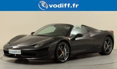 A la recherche d'un modèle sport d'occasion ? Et pourquoi pas cette splendire Ferrari 458 italia ? #ferrari #occasion