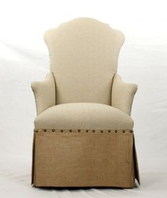 Zentique #60 Skirted Arm Chair By Zentique