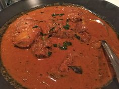 Fish curry at Indique