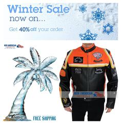 Winter Sale Offer! Harley Davidson and Marlboro Man Jacket now available on Sale at NewAmericanjackets Store with Up to 40% Off.    #HarleyDavidson #Marlboro #Man #MarlboroMan #maleFashion #jacket #Celebrity #Shopping #onlineshopping #colorability #everydaystyle #styleinspo #styleatanyage #clothes #hot #classy #stunning #vintage #vintagecoat #vintageshop #fallcoat #WinterSale #winterOffer