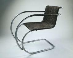 MR20 armchair LUDWIG MIES VAN DER ROHE (GERMAN, 1886–1969)  LILLY REICH (GERMAN, 1885–1947)  BERLINER METALLGEWERBE JOSEF MÜLLER (GERMAN, AC...