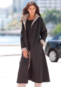 Women's Stutterheim Mosebacke Waterproof A-Line Hooded Raincoat ...