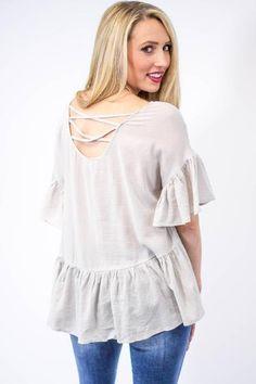 Penelope Peplum Top-[product_description]-[product_tag]-Stella B. Clothing