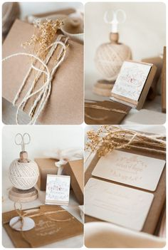 Pretty Packaging | Ivory Twine & Dried Baby's Breath