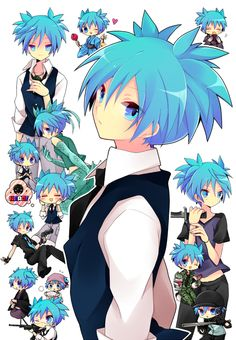 Nagisa Shiota from Assassination Classroom All Anime, Anime Guys, Manga Anime, Anime Art, Karma Y Nagisa, Chibi, Koro Sensei, Classroom Pictures, Nagisa Shiota