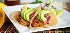 Ancho Shrimp Taco | Chef'd