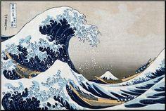 The Great Wave at Kanagawa (from 36 views of Mount Fuji), c.1829 Posters by Katsushika Hokusai at AllPosters.com