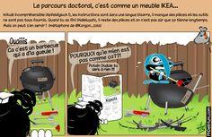 Le parcours doctoral c'est comme…un meuble IKEA !!! (PHDelirium, 14/03/2013) #doctorat