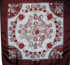 """Coccinelles (from <a href=""""http://piwigo.hermesscarf.com/picture?/2985/category/Home"""">HSCI Hermes Scarf Photo Catalogue</a>)"""