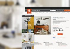 A great web design by Copious, Portland, OR: Website, E-Commerce , Retail , Ruby on Rails