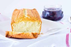 French Yogurt Cake Recipe (Easy and Delicious) - Mon Petit Four Homemade Desserts, Easy Cake Recipes, Sweet Recipes, Cake Recipe Using Yogurt, French Yogurt Cake, Cherry Syrup, Piece Of Cakes, Dessert Bars, Baked Goods