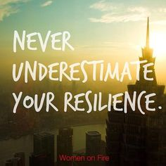 Trust that you can always handle what life throws at you, and know that you can always ask for help #womenonfire www.womenonfire.com