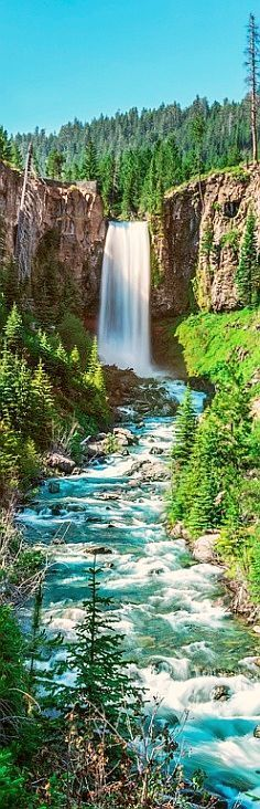 ✯ Tumalo Falls, Oregon