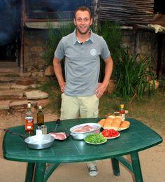 Jan Braai steak flambe