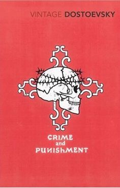 Crime and Punishment - Dostoyevsky. This cover would make a great tattoo.