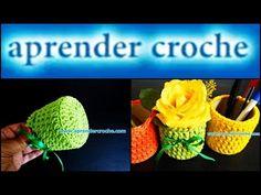 Cactos de Crochê - YouTube