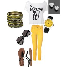 I LUV YELLOW, created by me