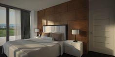 Master bedroom visualisation