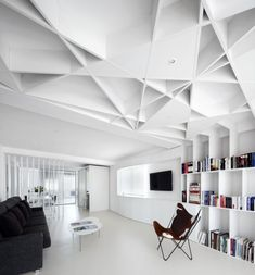 Love the ceiling.