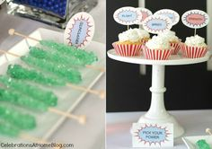 5 steps to a fun Superman party-food