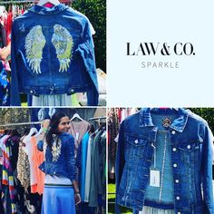 Law & Co are a collection of clothing and homeware boutiques in the Cotswolds offering a fresh taste of lifestyle products, statement furniture and on trend clothing. Law & Co stores can be found in Stow & Cirencester. Denim Jacket Fashion, Boutique Shop, Angel Wings, Trending Outfits, Must Haves, Law, Sequins, Lifestyle, Fitness