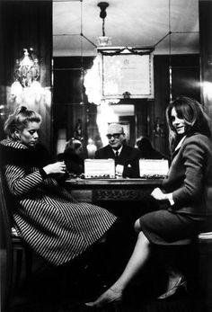 Catherine Deneuve and Françoise Dorléac.