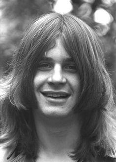 Young Ozzy Osbourne Black and white Photo portrait Ozzy Osbourne Young, Birmingham, Ozzy Osbourne Black Sabbath, Historia Do Rock, Geezer Butler, Legend Music, Zakk Wylde, Rock Legends, Him Band