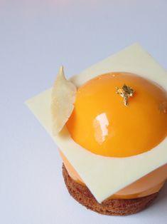 Cheesecake Exotique Passion-mangue - Olivia Pâtisse