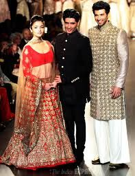 Gorgeous bridal wear by Manish Malhotra.