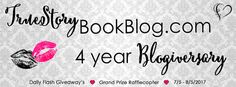 Come celebrate True Story Book Blog's 4 year blogiversary!!!
