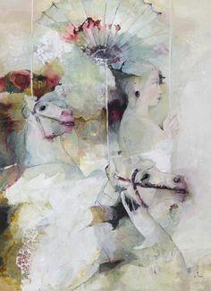 francoise de felice art   Цветните сънища на Francoise Felice art