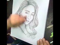 Kathryn Bernardo speed pencil drawing Pencil Drawing Tutorials, Pencil Drawings, Kathryn Bernardo, Celebrity Drawings, Sketches, Portraits, Celebrities, Drawings, Celebs