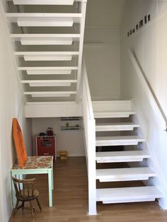 The Stira folding attic stairs is a loft ladder designed to last.The Stira folding attic stairs is a loft ladder designed to last. Tiny House Stairs, Attic Stairs, Loft House, Basement Stairs, Tile Stairs, Concrete Stairs, Stairs Colours, Building Stairs, Stair Landing