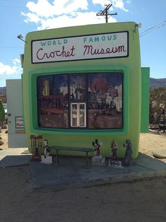 "Have you been to the ""World Famous Crochet Museum""?"