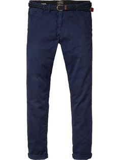 Warren - Twill Chinos | Relaxed Slim Fit