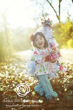 Dallas Baby Photographer, 2 year old girl, Holiday shoot, Christmas tree