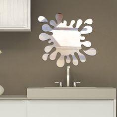 Espelho auto-adesivo, Acrílico espelhado