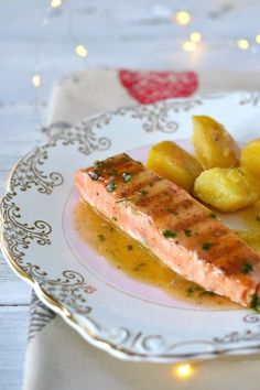 Fish Recipes, Baby Food Recipes, Cooking Recipes, Healthy Recipes, Good Food, Yummy Food, Romanian Food, 1200 Calories, Fish And Seafood