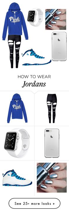 """Untitled #184"" by babyana1 on Polyvore featuring WithChic, Victoria's Secret, NIKE and Apple"