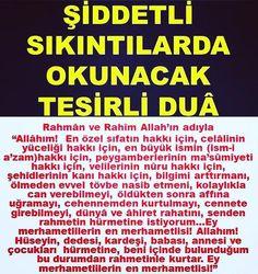 Ayet Hadis En Büyük Dualar   www.1ses.net - 1SES.NET Allah Islam, Islam Quran, Pray, Pictures, Spiritual, Apartment Living Rooms, Allah