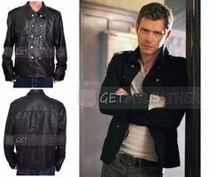 Buy The Vampire Diaries Klaus Mikaelson Jacket Coat and get a descent discount as well, its complete replica of it and made up of pure leather.